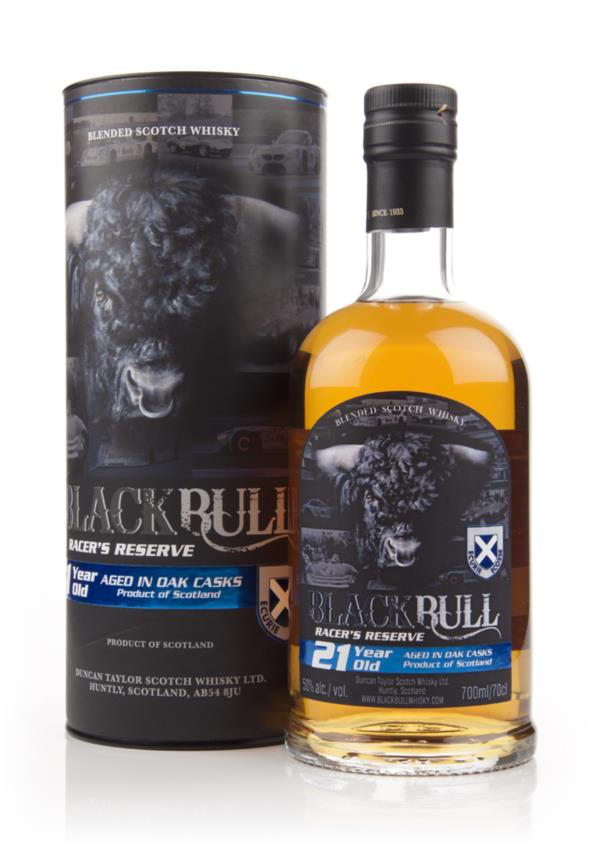 Black Bull Racers Reserve 21 Year Old (Duncan Taylor) Blended Whisky