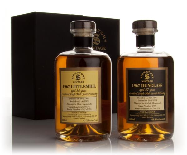 Dunglass and Littlemill 1967 (Signatory) Single Malt Whisky