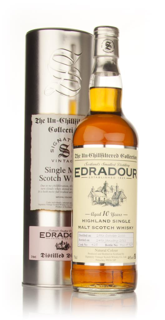 Edradour 10 Year Old 2000 - Un-Chillfiltered (Signatory) Single Malt Whisky