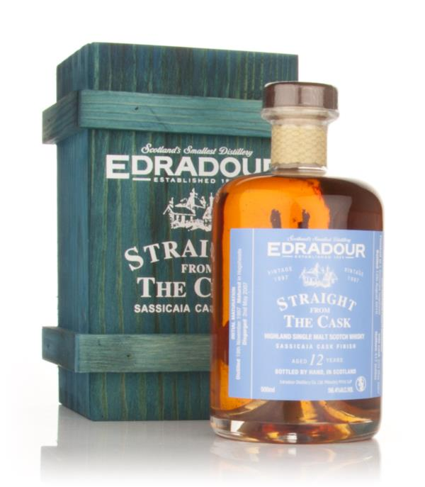 Edradour 12 Year Old 1997 Sassicaia - Straight from the Cask 56.4% Single Malt Whisky