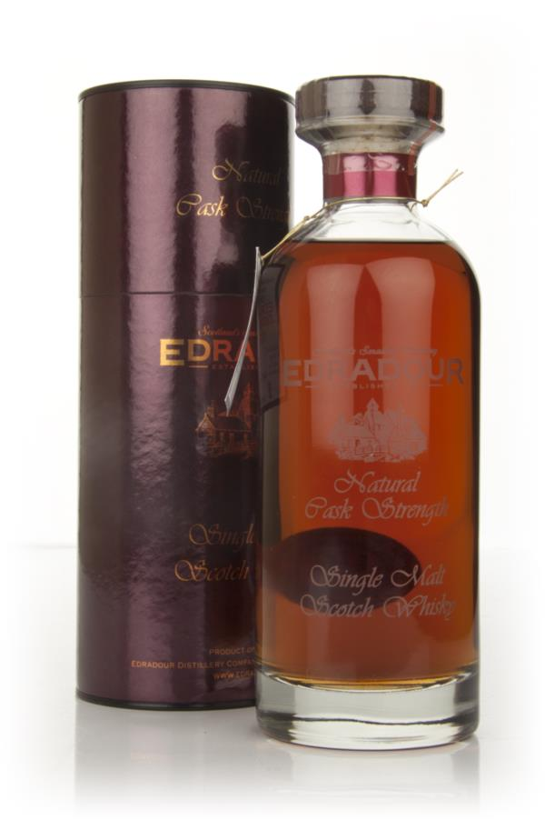 Edradour 1998 Natural Cask Strength - Ibisco Decanter Single Malt Whisky
