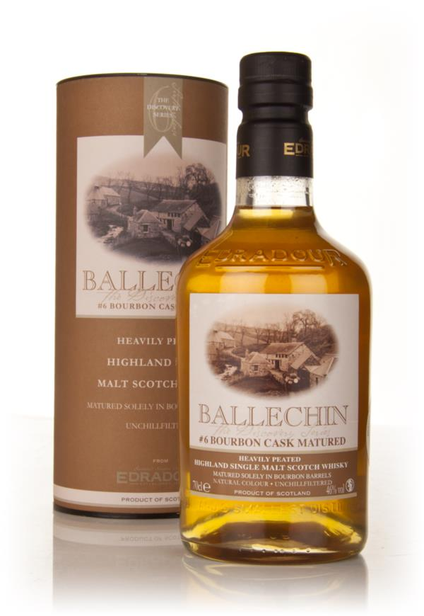 Edradour Ballechin Bourbon Cask Matured 6 Single Malt Whisky