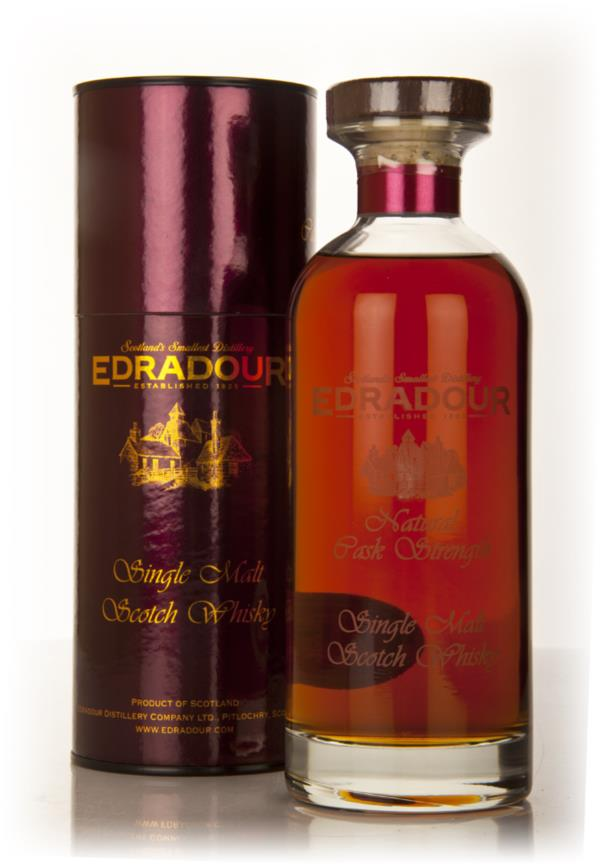 Edradour Natural Cask Strength 1997 - Ibisco Decanter Single Malt Whisky