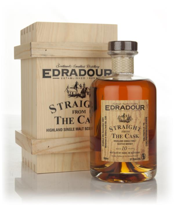 Edradour 10 Year Old 2001 - Straight from the Cask Single Malt Whisky