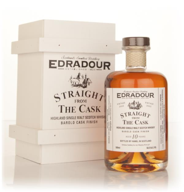 Edradour 10 Year Old 2002 Barolo Cask Finish - Straight From The Cask Single Malt Whisky