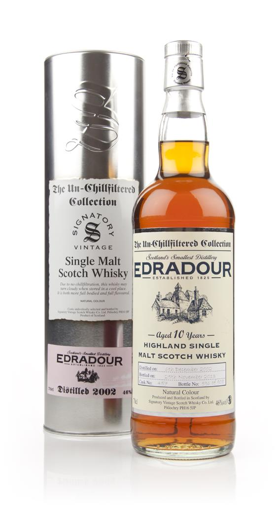 Edradour 10 Year Old 2002 (cask 457) - Un-Chillfiltered (Signatory) Single Malt Whisky
