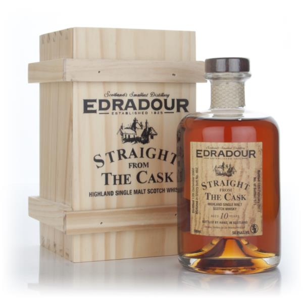 Edradour 10 Year Old 2002 - Straight from the Cask Single Malt Whisky