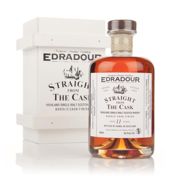Edradour 11 Year Old 2002 Barolo Cask Finish - Straight From The Cask Single Malt Whisky