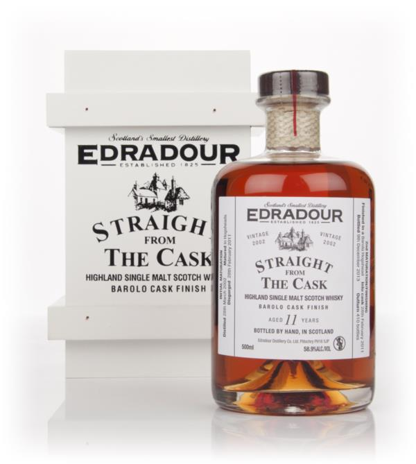 Edradour 11 Year Old 2002 Barolo - Straight From The Cask Single Malt Whisky