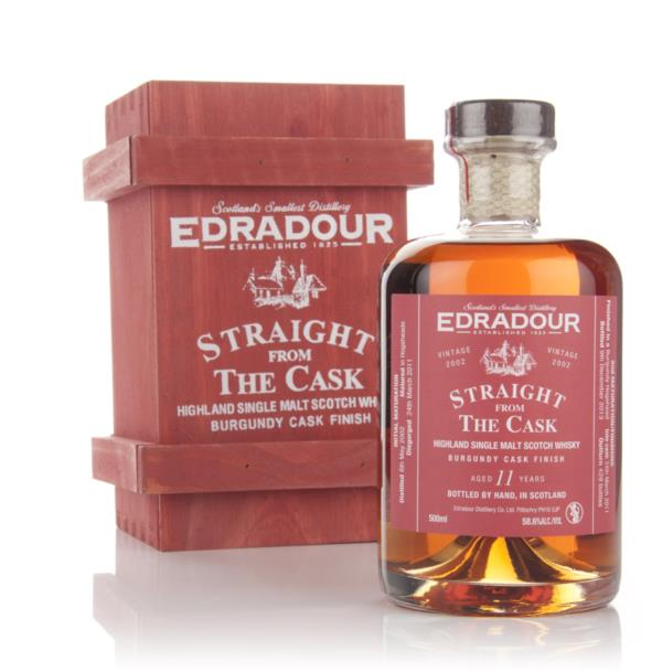 Edradour 11 Year Old 2002 Burgundy Cask Finish - Straight From the Cas Single Malt Whisky