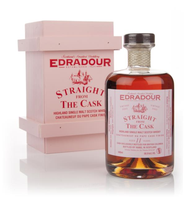 Edradour 11 Year Old 2002 Chateauneuf-du-Pape Cask Finish - Straight F Single Malt Whisky