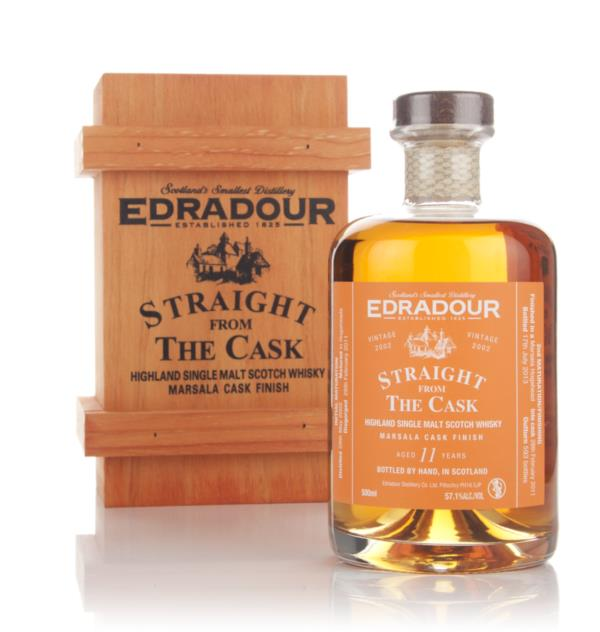 Edradour 11 Year Old 2002 Marsala Cask Finish - Straight From The Cask Single Malt Whisky