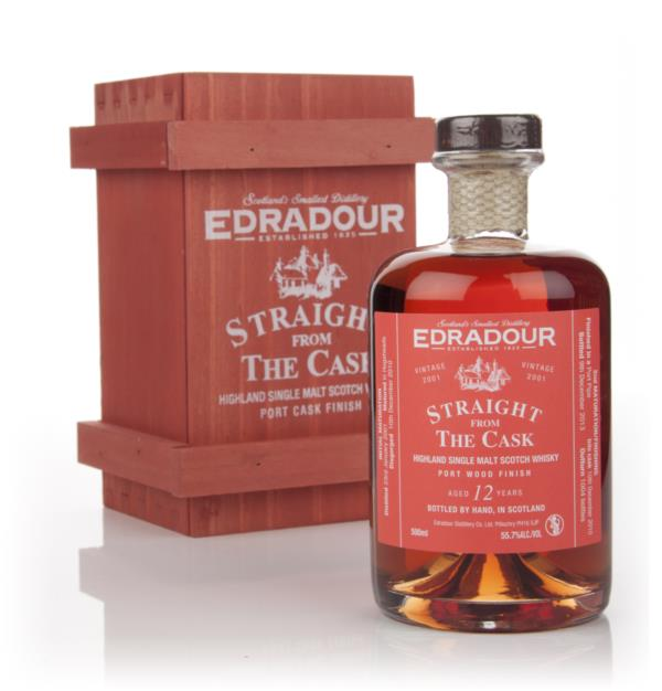 Edradour 12 Year Old 2001 Port Wood Finish - Straight From The Cask 55 Single Malt Whisky