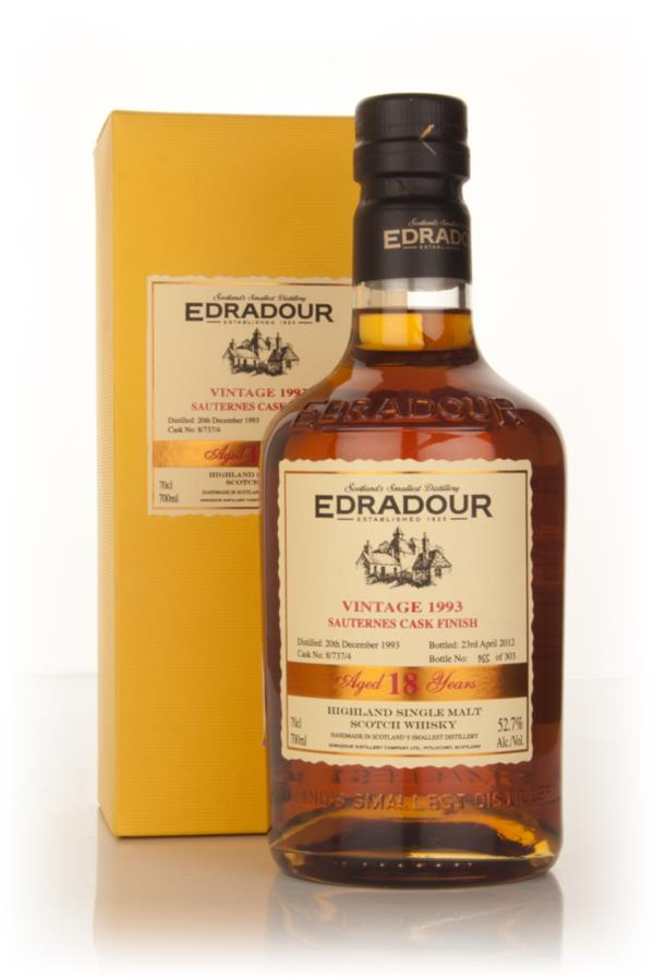 Edradour 18 Year Old 1993 Sauternes Cask Finish Single Malt Whisky