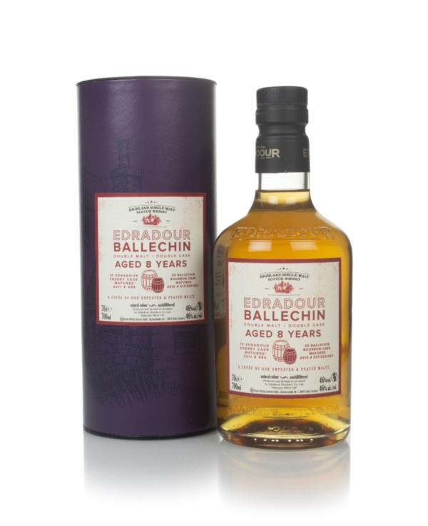 Edradour Ballechin 8 Year Old Double Malt Double Cask Single Malt Whisky