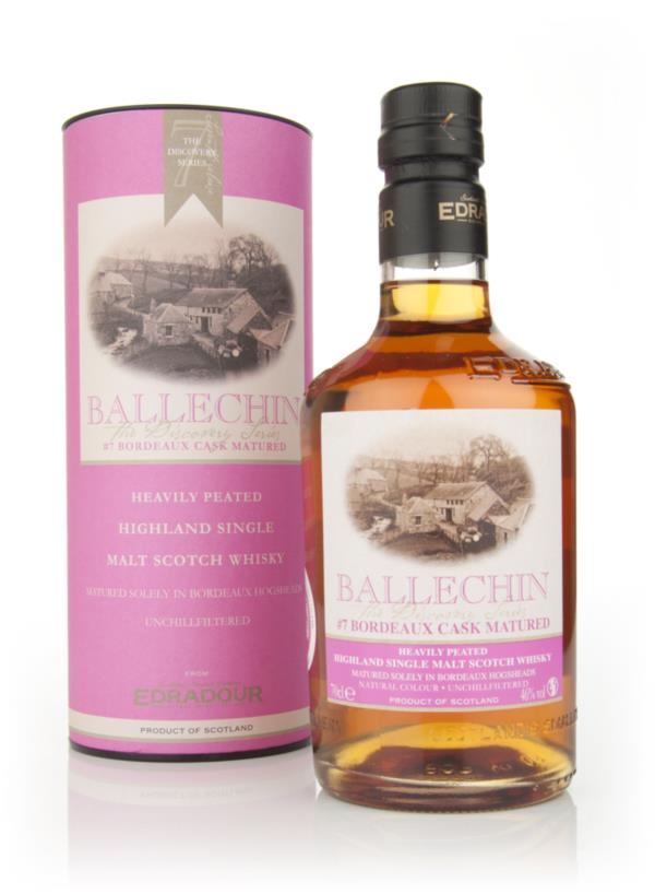 Edradour Ballechin #7 Bordeaux Cask Matured (The Discovery Series) Single Malt Whisky