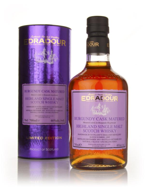 Edradour 2003 Burgundy Cask Matured Single Malt Whisky