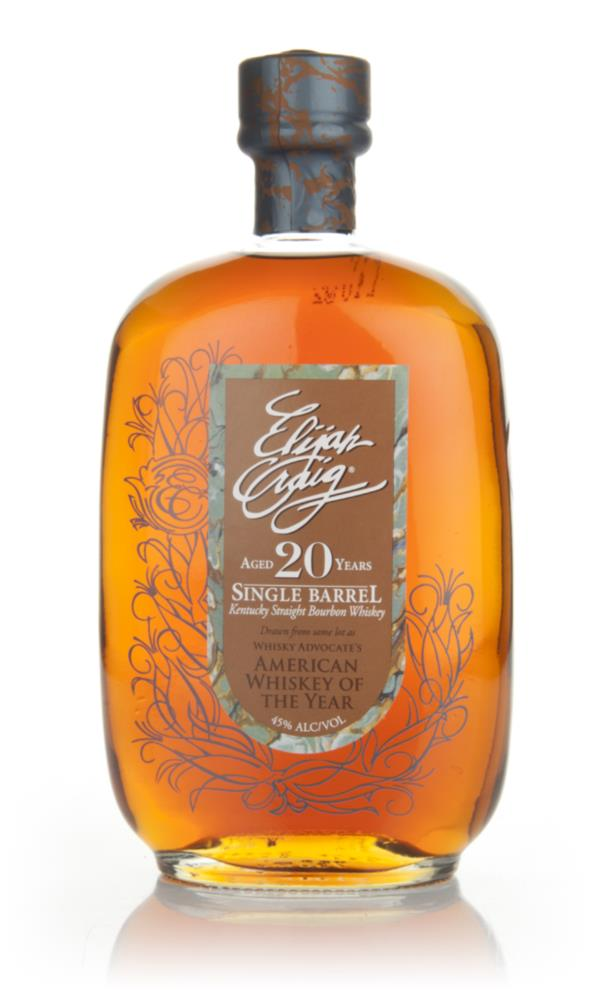 Elijah Craig 20 Year Old Bourbon Whiskey