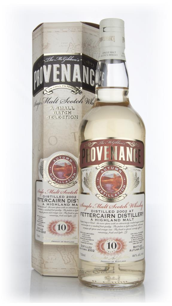 Fettercairn 10 Year old 2002 - Provenance (Douglas Laing) Single Malt Whisky