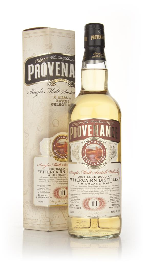 Fettercairn 11 Year Old 2000 - Provenance (Douglas Laing) Single Malt Whisky