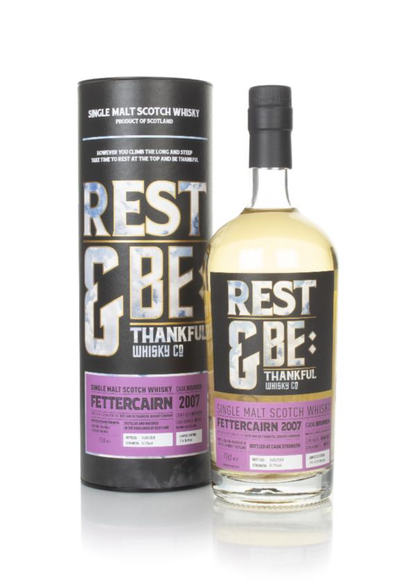 Fettercairn 12 Year Old 2007 (cask 801513) - Rest & Be Thankful Single Malt Whisky