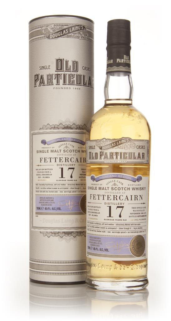 Fettercairn 17 Year Old 1995 (cask 10024) - Old Particular (Douglas La Single Malt Whisky