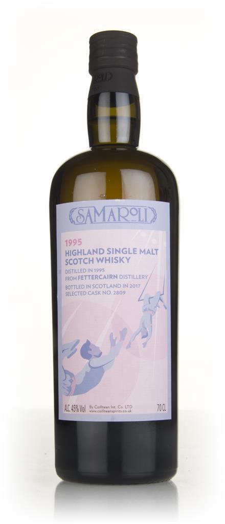 Fettercairn 1995 (bottled 2017) (cask 2809) - Samaroli 3cl Sample Single Malt Whisky