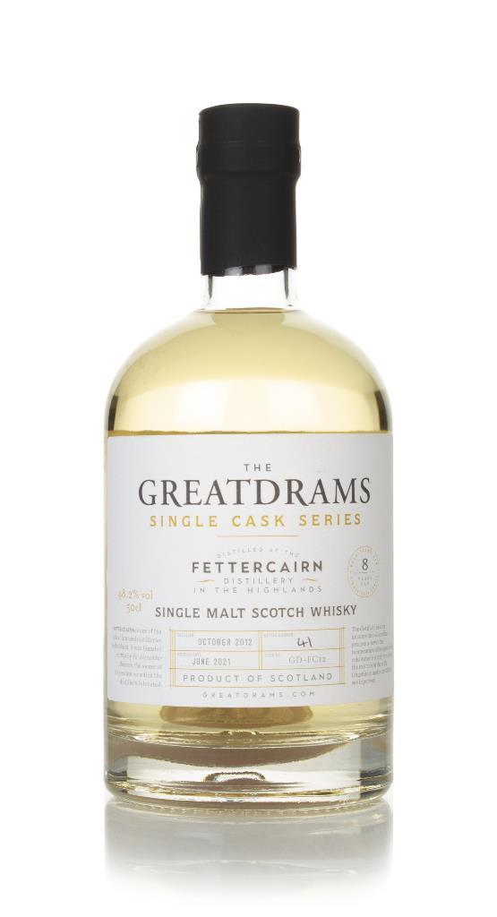 Fettercairn 8 Year Old 2012 (cask GD-FC12) - Single Cask Series (Great Single Malt Whisky