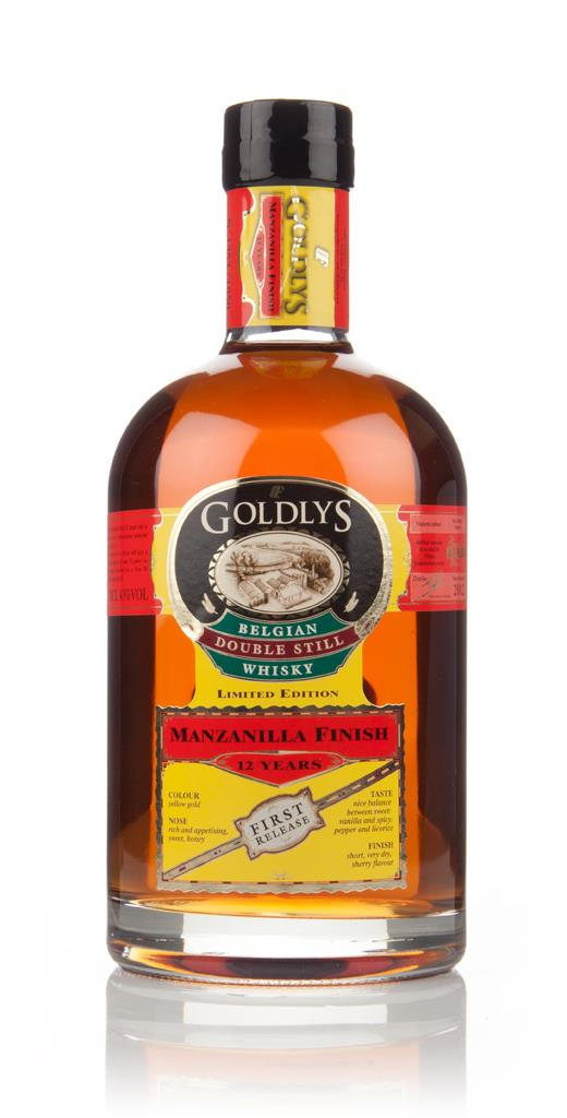 Goldlys 12 Year Old Manzanilla Cask Finish (1st Release) Grain Whisky