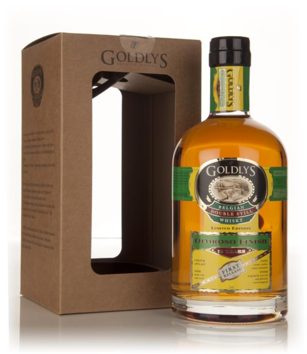 Goldlys 12 Year Old Oloroso Finish (1st Release) Grain Whisky