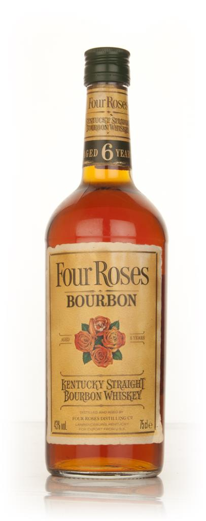 Four Roses 6 Year Old Bourbon - 1980s Bourbon Whiskey