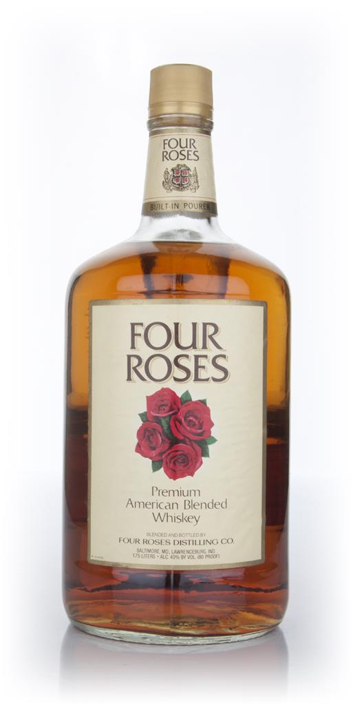 Four Roses Bourbon - 1980s 1.75l Blended Whiskey