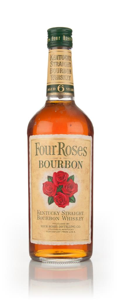 Four Roses 6 Year Old Kentucky Bourbon - 1970s Bourbon Whiskey