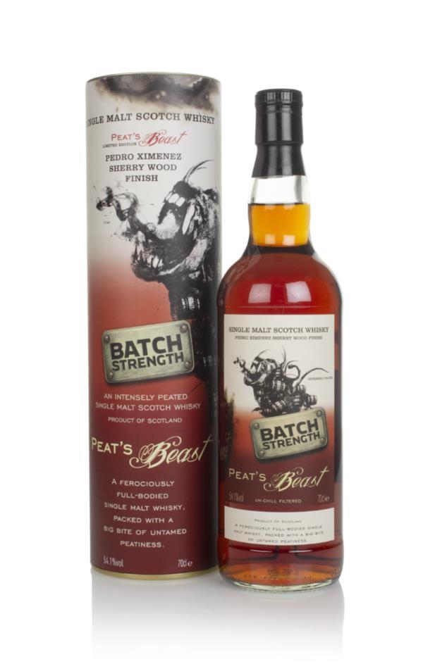 Peat's Beast Batch Strength - Pedro Ximenez Finish Single Malt Whisky