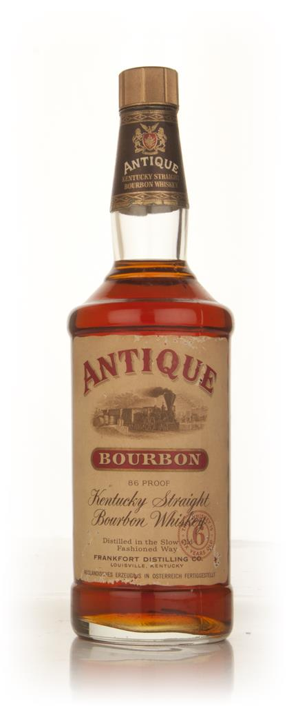 Antique 6 Year Old Kentucky Straight Bourbon Whiskey - 1960s Bourbon Whiskey