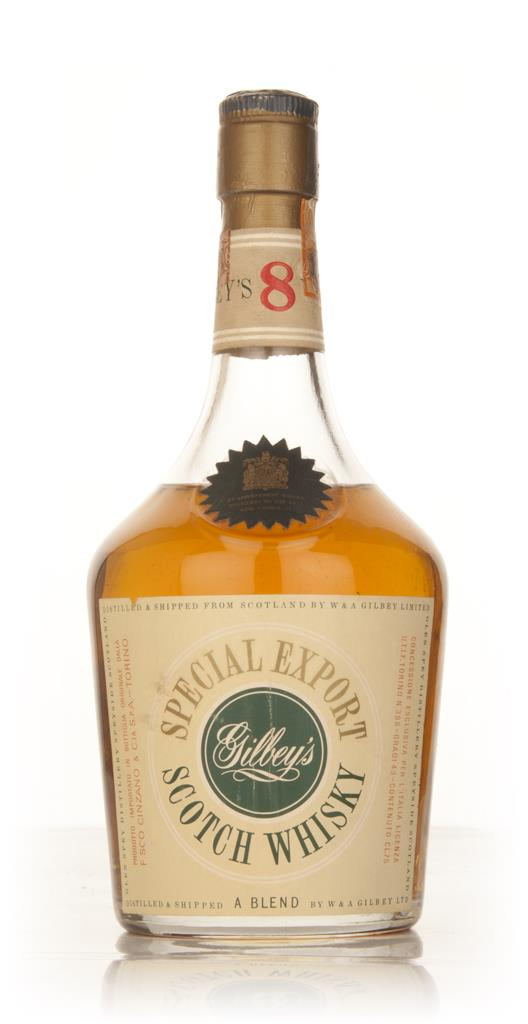 Gilbeys 8 Year Old Special Export - 1950s Blended Whisky