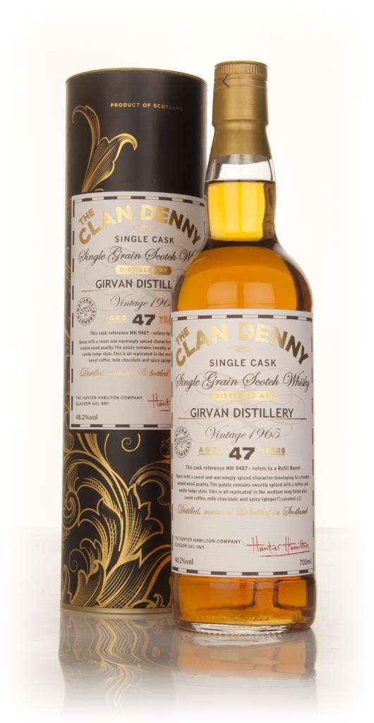 Girvan 47 Year Old 1965 (cask 9487) - The Clan Denny (Douglas Laing) Grain Whisky