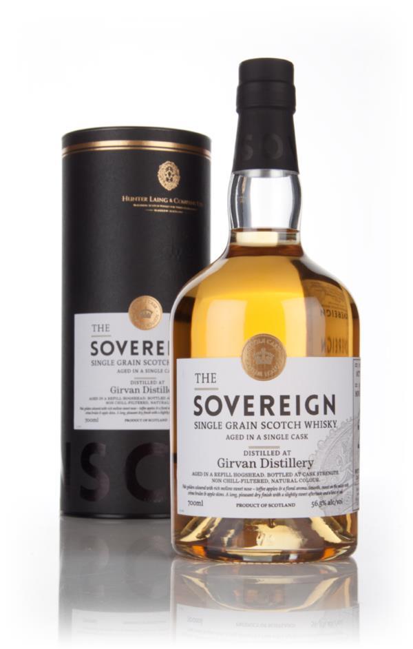 Girvan 26 Year Old 1988 (cask 11119) - Sovereign (Hunter Laing) 3cl Sa Grain Whisky 3cl Sample