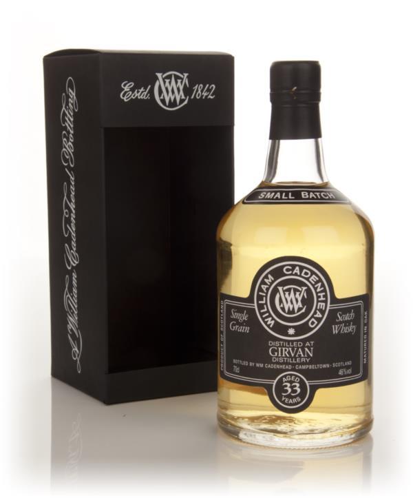 Girvan 33 Year Old 1979 - Small Batch (WM Cadenhead) Grain Whisky