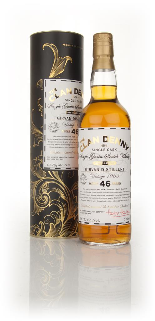 Girvan 46 Year Old 1965 - Clan Denny Grain Whiskies (Douglas Laing) Grain Whisky