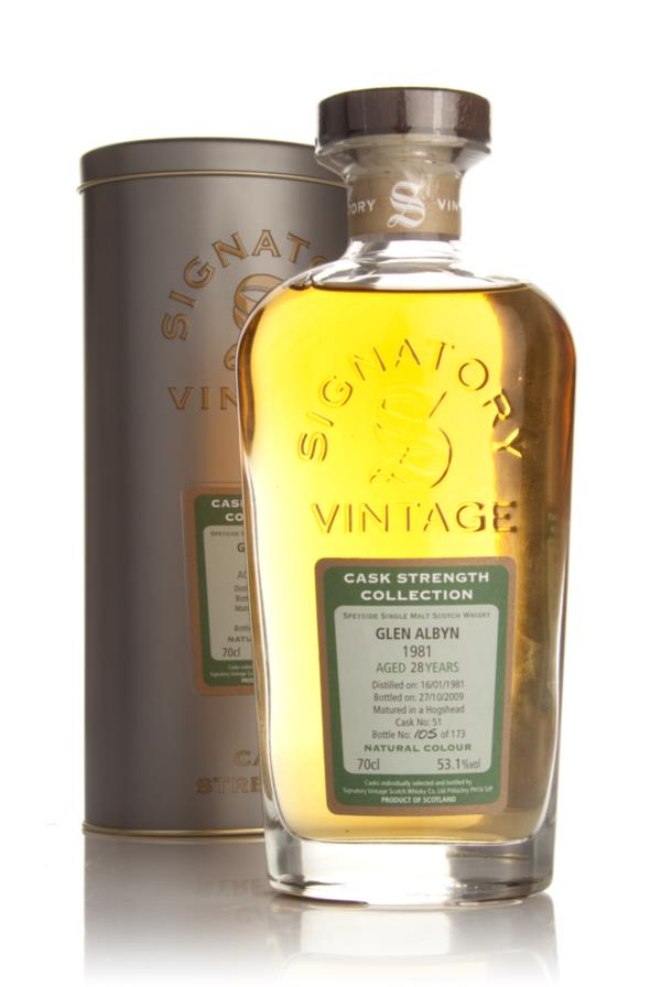 Glen Albyn 28 Year Old 1981 - Cask Strength Collection (Signatory) Single Malt Whisky