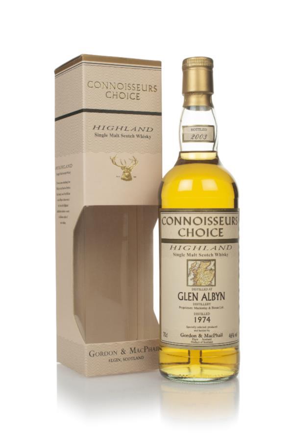 Glen Albyn 1974 (bottled 2003) - Connoisseurs Choice (Gordon & MacPhai Single Malt Whisky