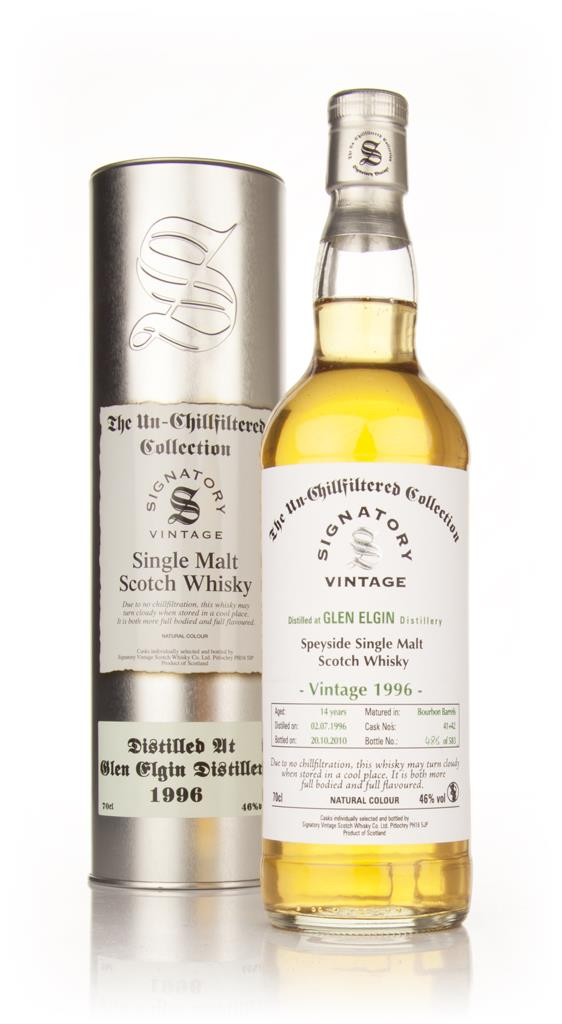 Glen Elgin 14 Year Old 1996 - Un-Chillfiltered (Signatory) Single Malt Whisky