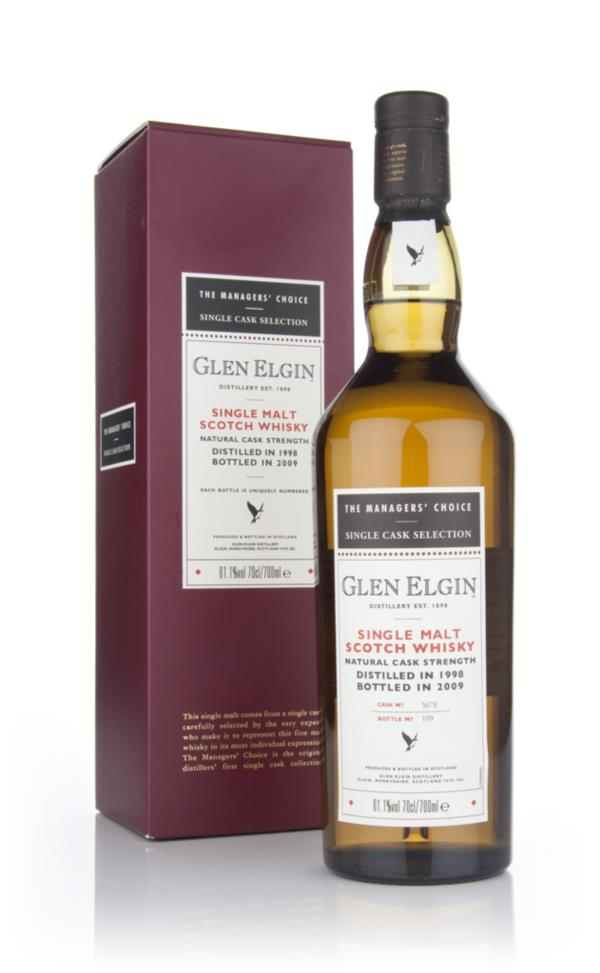 Glen Elgin 1998 - Managers Choice Single Malt Whisky
