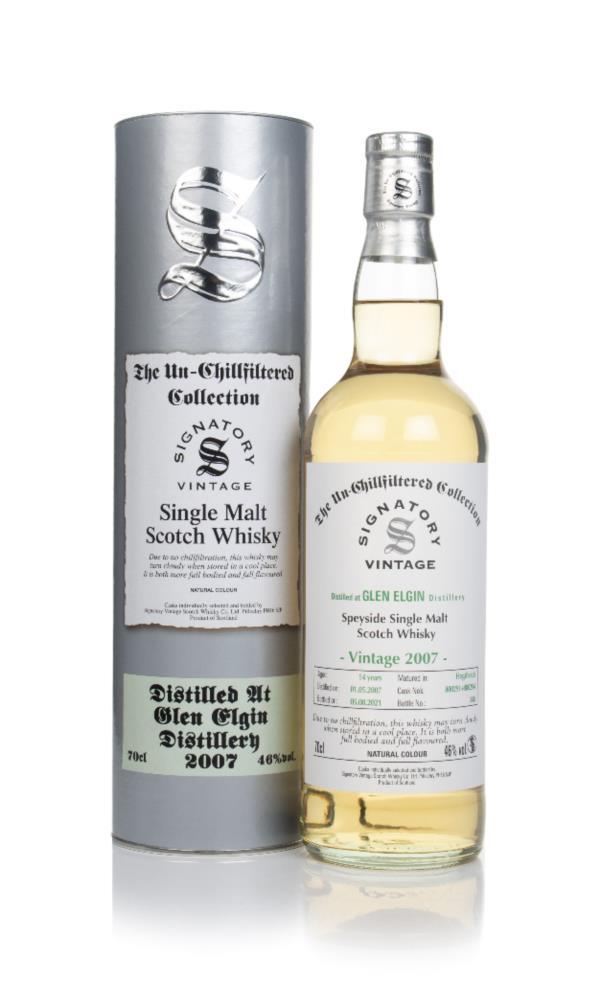 Glen Elgin 14 Year Old 2007 (casks 800291 & 800294) - Un-Chillfiltered Single Malt Whisky