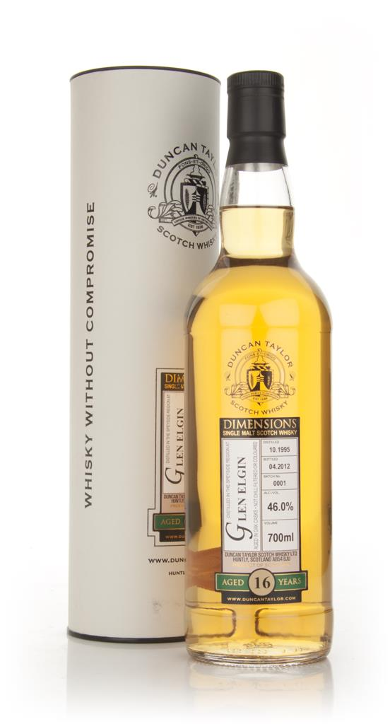 Glen Elgin 16 Year Old 1995 - Dimensions (Duncan Taylor) Single Malt Whisky