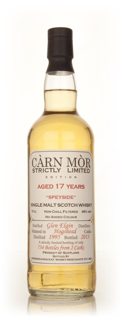 Glen Elgin 17 Year Old 1995 - Strictly Limited (Carn Mor) Single Malt Whisky