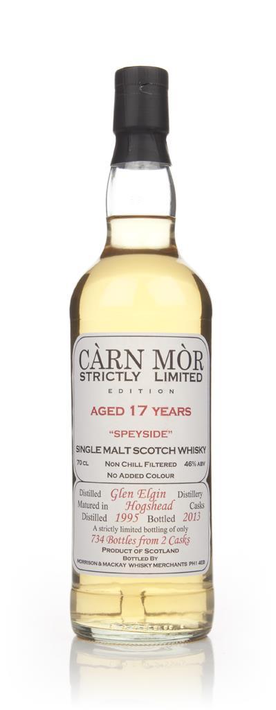 Glen Elgin 17 Year Old 1995 - Strictly Limited (Carn Mor) Single Malt Whisky