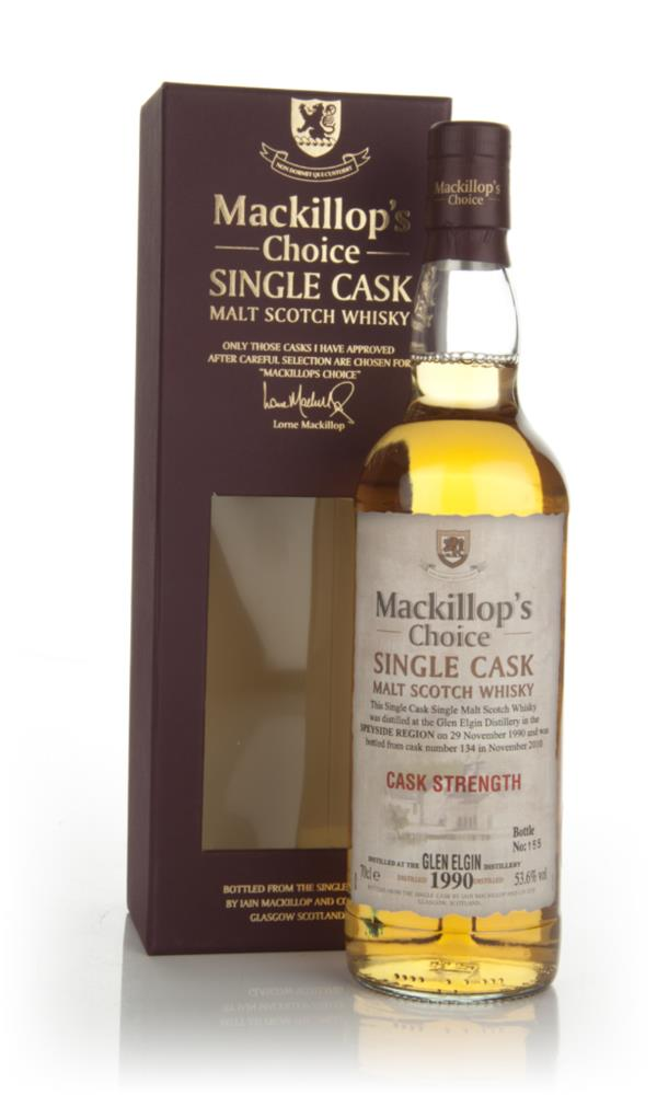 Glen Elgin 1990 (cask 134) - Mackillop's Choice (bottled 2010) Single Malt Whisky
