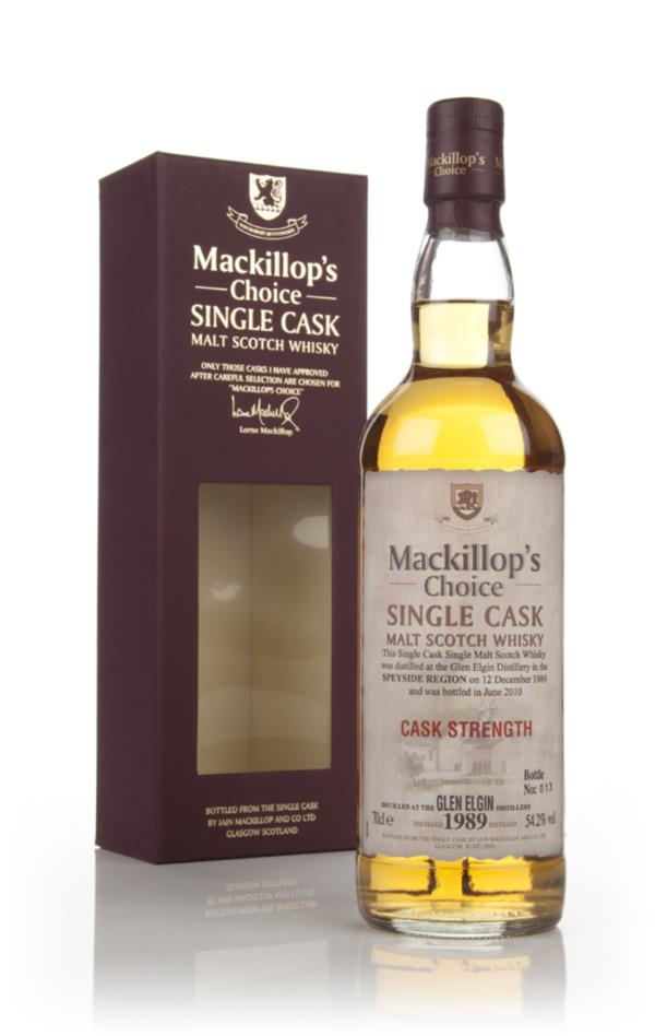 Glen Elgin 20 Year Old 1989 - Mackillop's Choice Single Malt Whisky